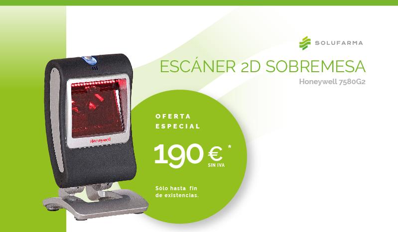 Escaner 2D Sobremesa Honeywell 7580G2 Oferta Especial 190€