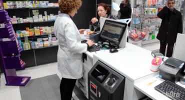 Cajones de cobro automático para farmacia